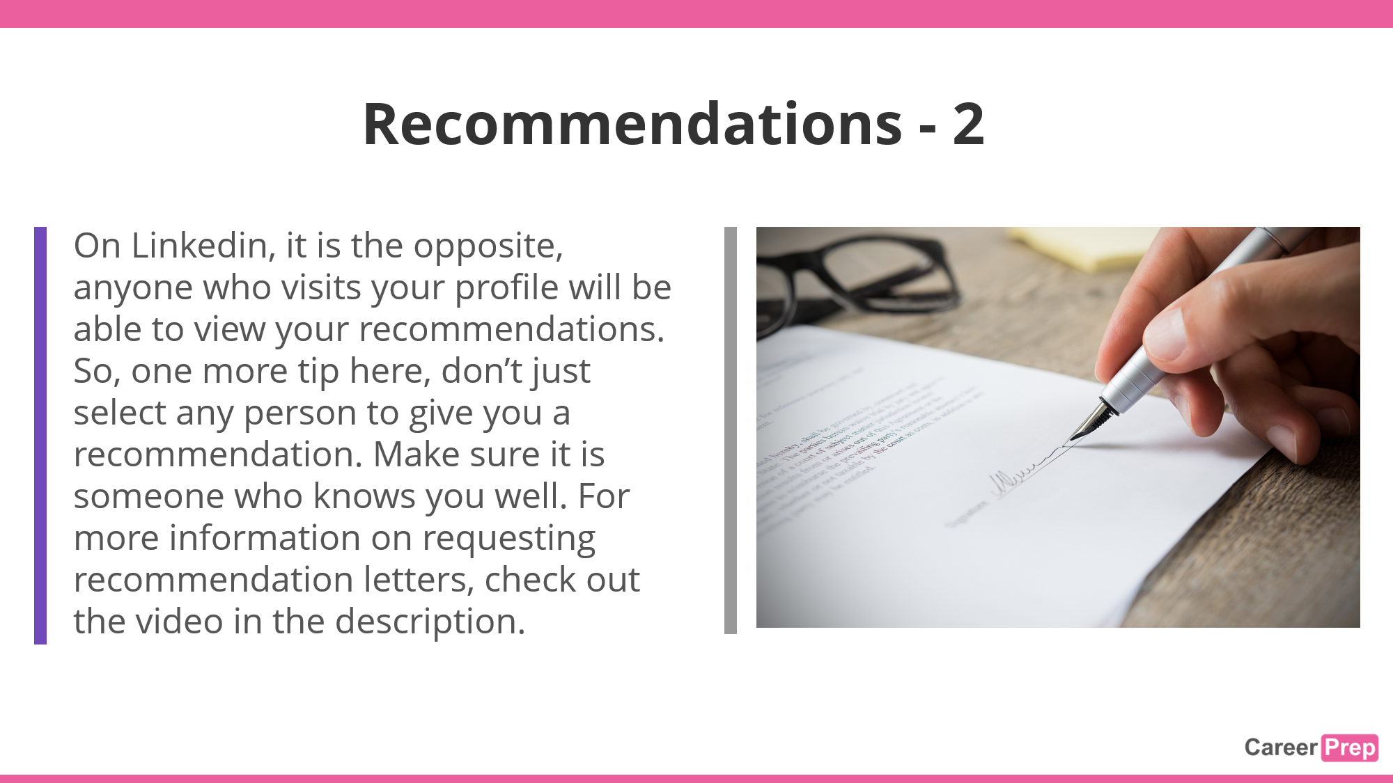 recommendation letters for students